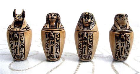 vaso canopo egito os vasos canopos canopicos os filhos de horus mumia