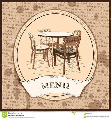 restaurant cover layout restaurant menu cover design stock vector image 64558041