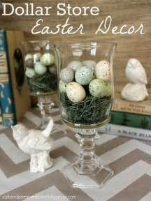 Easter Home Decor by Salt And Pepper Moms Dollar Store Easter Decor