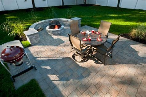 slate hickory standard finish paver patio in cherry