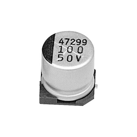 capacitor smd electrolytic samwha rc1h225m04005vr 2 2 181 f 177 20 50v 105 176 c smd aluminium electrolytic capacitor rapid