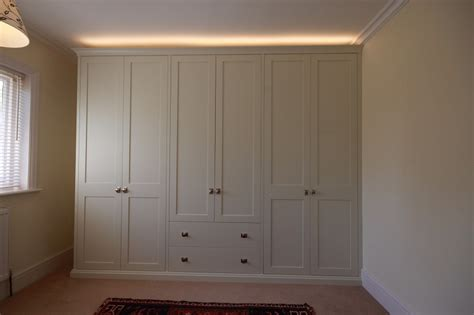 How To Paint A Wooden Wardrobe White by Bedrooms