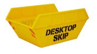 skip desk tidy desktop skip keep that desk tidy gift ideas
