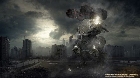 Walking War Robot Wallpapers High Quality » Extra