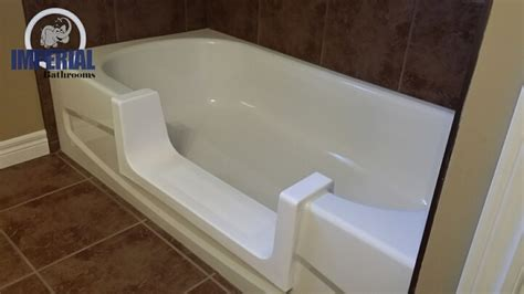how to cut a bathtub bathtub cutout conversion photo gallery