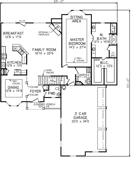 house plans with large master suites