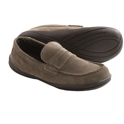 hush puppies house shoes hush puppies cottonwood suede slippers for men save 67