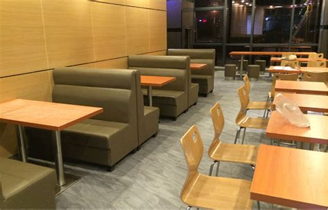 restaurant couch restaurant furniture simple design leather cover