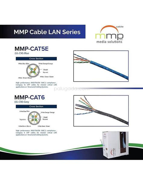 Mmp Cable Utp Cat 6 Sj0038 mmp cable utp cat 6
