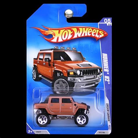 Hotwheels Hummer H2 Sut 1 wheels 2009 garage hummer h2 sut orange copper carminiatures