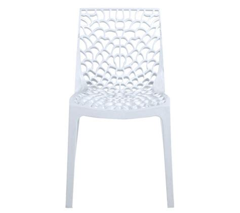 chaise nid d abeille chaise abeille blanc chaises but