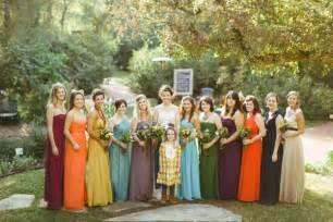 Autumn bridesmaids backyard fort worth wedding from jess barfield