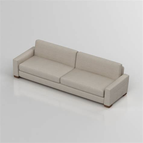 maxwell sofa reviews 3d restoration hardware maxwell sofa high quality 3d models