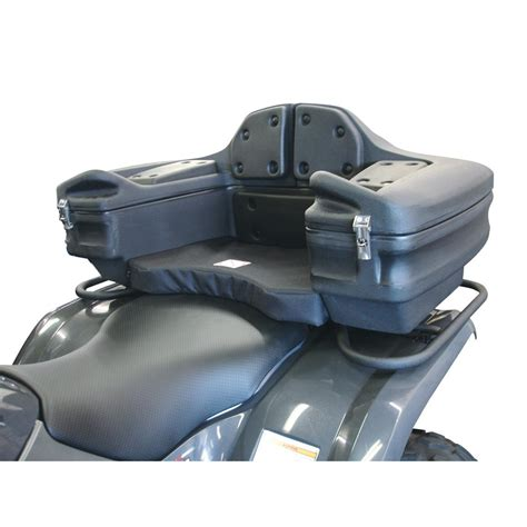 atv rear cargo seat canada kolpin 174 atv rear lounger with storage 172877 racks