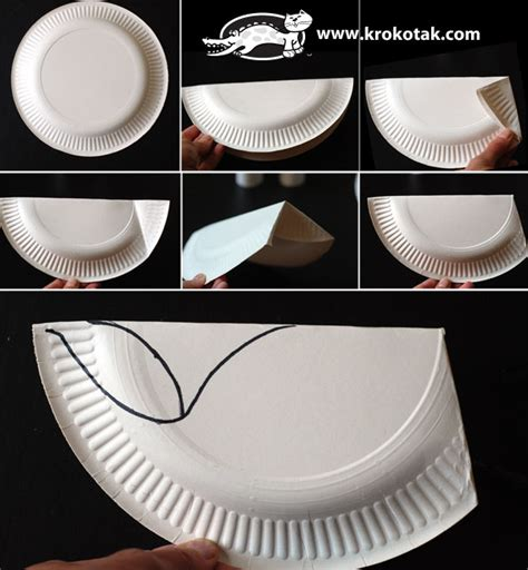 Paper Plate Whale Craft - a paper plate whale krokotak crafts
