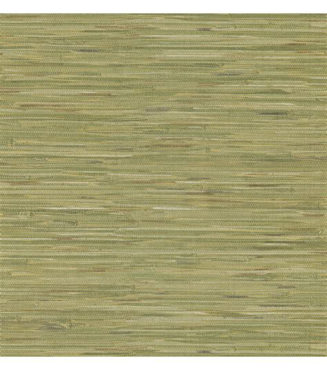 faux grasscloth wallpaper home decor madagascar olive faux grasscloth wallpaper jo ann