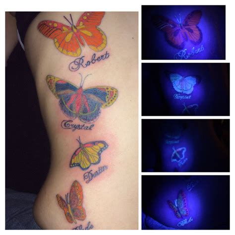 uv ink tattoo my tatts pinterest