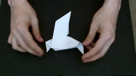 Origami Peace Sign - how to make an origami peace dove hd