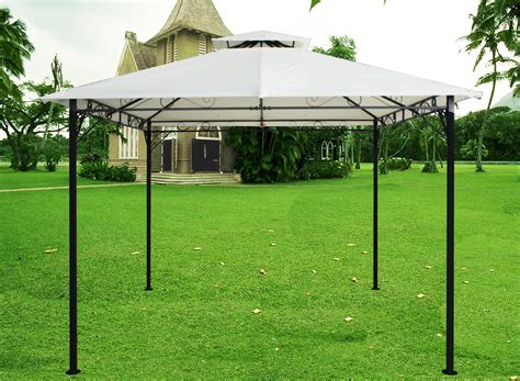 Wand Pavillon Metall by Metal Wall Gazebo Awning Canopy Pergola Shade Marquee