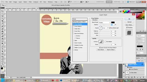 membuat cv menggunakan photoshop tutorial membuat curriculum vitae menggunakan adobe photoshop