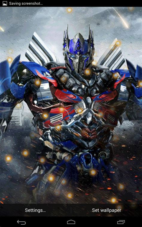 download theme android transformers free transformer 4 live wallpaper apk download for android