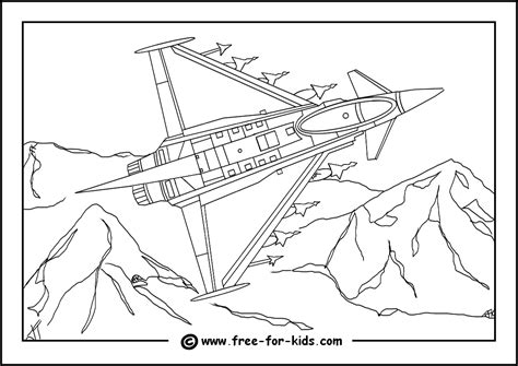 coloring pages euro british bombers ww2 colouring pages