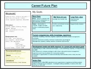 five year career development plan template gallery of five year career plan template five year