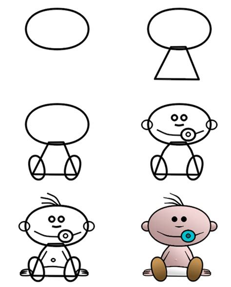 websites where you can draw can you draw this cute cartoon baby more tutorials