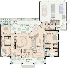 ranch style floor plan plan 8426jh split bedroom comfort house plans nice