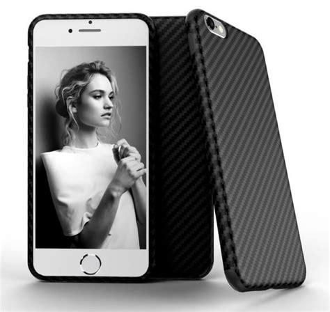 Casing Galeno Iphone 6 Slim Carbon Softcase souq for iphone 6s plus 5 5in x level carbon fiber slim back cover skin for iphone 6s