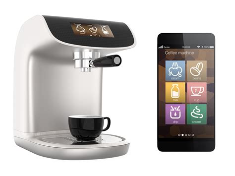espresso maker design ultra modern kitchens designs with smartphone coffee maker