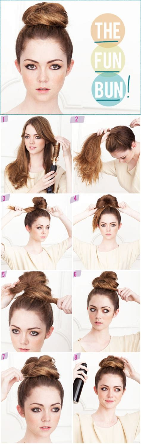 how to do quick messy hairstyles top 10 quick and easy hair buns top inspired
