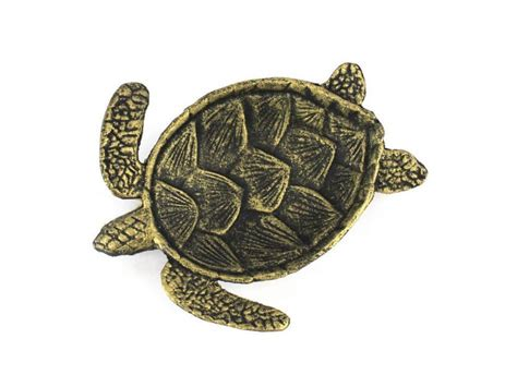 turtle home decor buy antique gold cast iron sea turtle decorative bowl 7