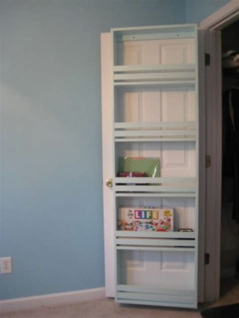 Back Of Closet Door Storage 40 Brilliant Closet And Drawer Organizing Projects Page