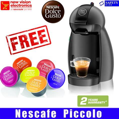 Nescafe Dolce Gusto Piccolo 6 Box buy nescafe piccolo coffee machine nescafe dolce gusto