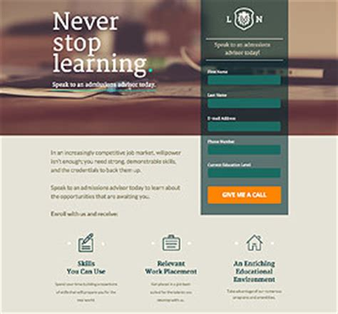 sales landing page template unbounce mobile responsive landing page templates