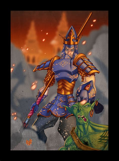 The High King Of Montival 1 the last high king of the noldor by kawenzmann on deviantart