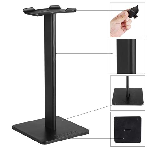 New Bee Headphone Headset Stand new bee portable alluminum headset stand holder display