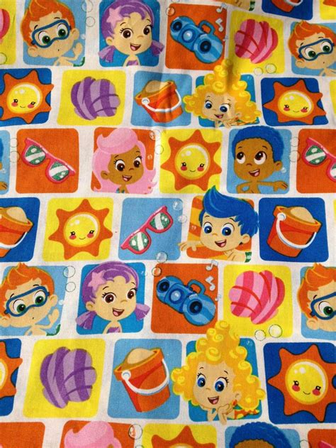 Guppies Crib Sheets by Guppies Toddler Crib Sheet By Longscreativecorner