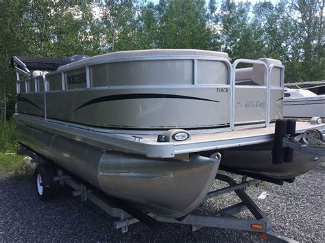 pontoon deck boats for sale used boats on oodle autos post - Used Pontoon Deck Boats