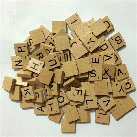 wooden scrabble tiles for crafts scrabbles letter tiles wooden 10 100 pieces complete