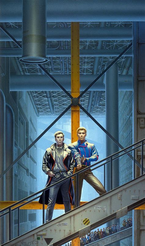 0008277761 the caves of steel caves of steel 171 the art of michael whelan