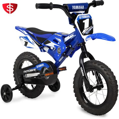 childrens motocross bikes boys bikes 16 inch yamaha bmx bike blue bicycles