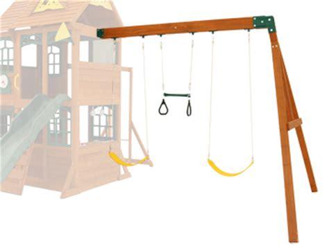 aero swing aero single swing climbing frame