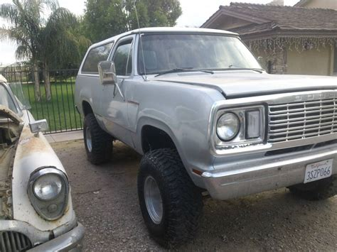 1978 dodge ramcharger for sale 1978 dodge ramcharger 4x4 318 automatic for sale in