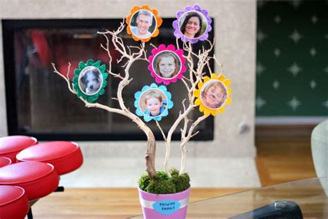 How To Make A 3d Tree Out Of Paper - 3d diy family tree with pictures ehow