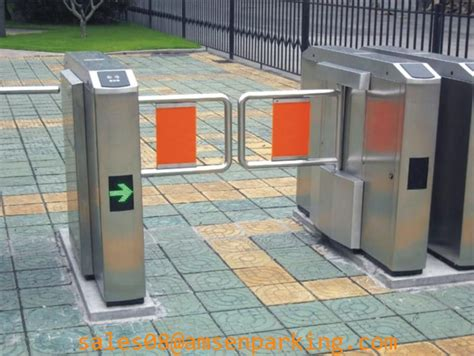 pedestrian swing gate pedestrian swing barrier gate for staff and visiting