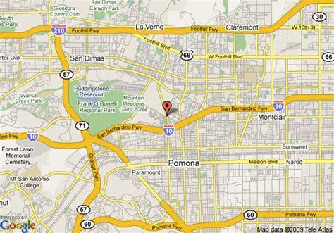 california map pomona map of sheraton suites fairplex pomona