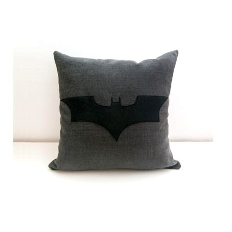 black patterned cushions batman cushion cover grey and black decorative pillow nerd