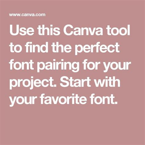 canva fonts list use this canva tool to find the perfect font pairing for